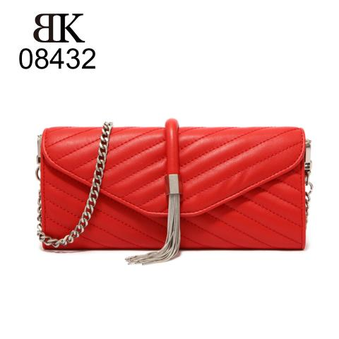 Latest styles of women slim chain wallets