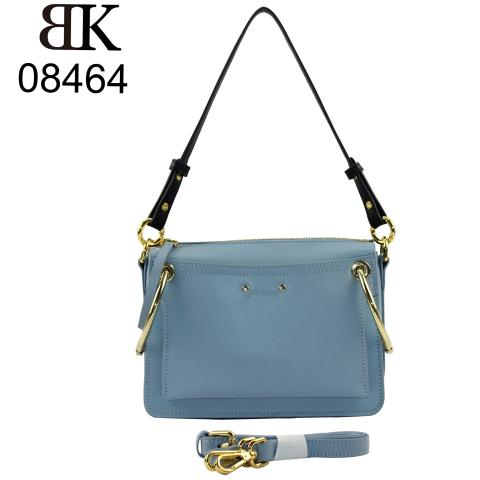 2020 fashion design cute ladies shoulder bag metal ring for girls