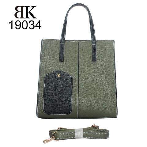 New fashion elegant 2 set lady tote handbag manufacturer
