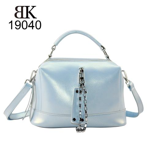 Shinning light blue bowling bags manufacturer