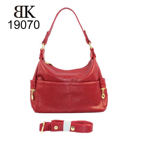 2019 trends light gold hardware red hobo bags