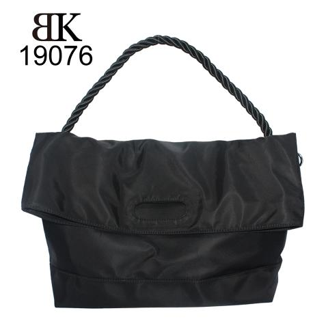 Popular black nylon tote bags for girls