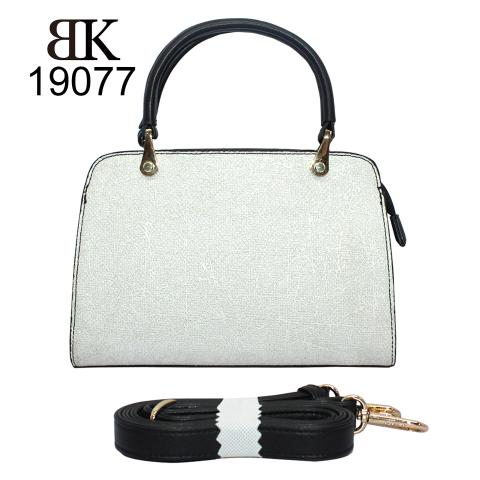 Grace off white pu leather tote bags for women