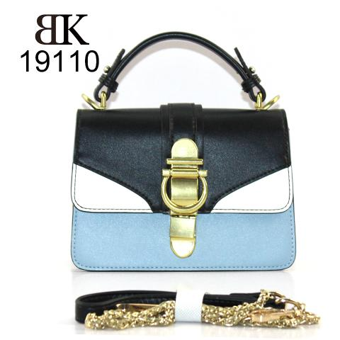 Tri-color handbags with chain manufacturer