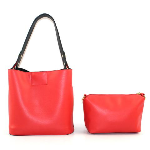 The red hobo bags feature light gold hardware, adjustable strap and removable zipper pouch, it has ample room to carry all of your things. Crafted from pu leather materials in a red.