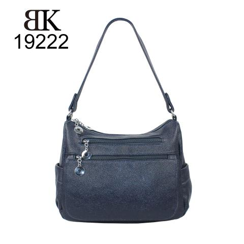 Guangzhou manufacturer pebble leather ladies tote handbags