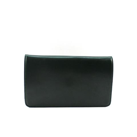 The welcomed mini clutch features smooth pu leather materials, adjustable strap and flap with snap closure, main zip pocket under the flap.