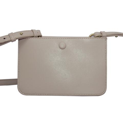 The thin cross body purse shoulder bag, glossy surface, gold hardware, light weight, portable and elegant looking . Features flap with magnetic snap closure with shoulder strap.