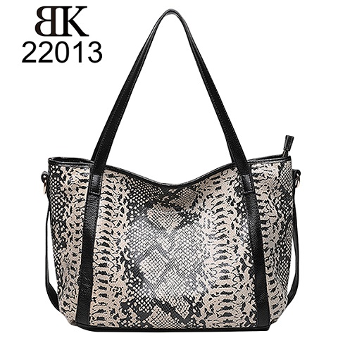 Fashion genuine leather bags embossed exaggerated animal patterns
