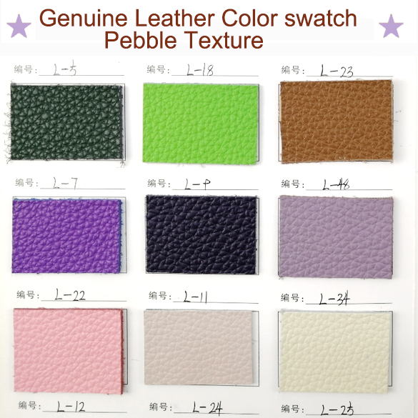 Let us talk the various lines of genuine leather bags materials